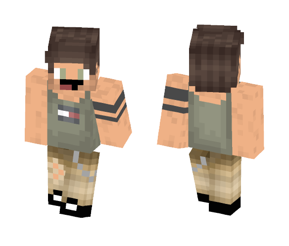 Tank Top - Male Minecraft Skins - image 1