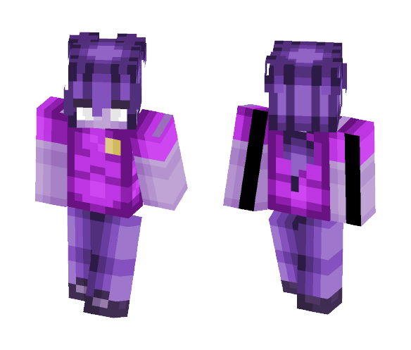 ♡ Vincent The Purple Guy ♡ - Male Minecraft Skins - image 1