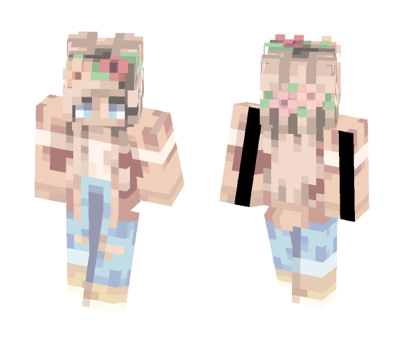 -Summerish- - Female Minecraft Skins - image 1