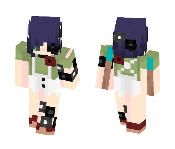 stab-wound. - Female Minecraft Skins - image 1