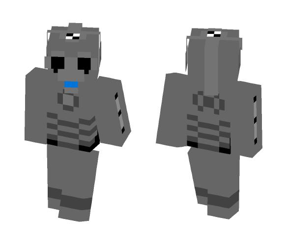 Twelth Leagon Cyberman - Male Minecraft Skins - image 1