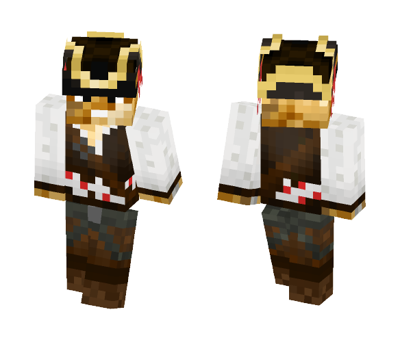 Pirate Lonely Potato - Male Minecraft Skins - image 1