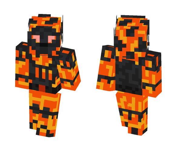 Sargaraz the Fire Champion - Male Minecraft Skins - image 1