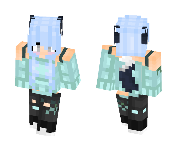 Another Wolf girl~ - Female Minecraft Skins - image 1