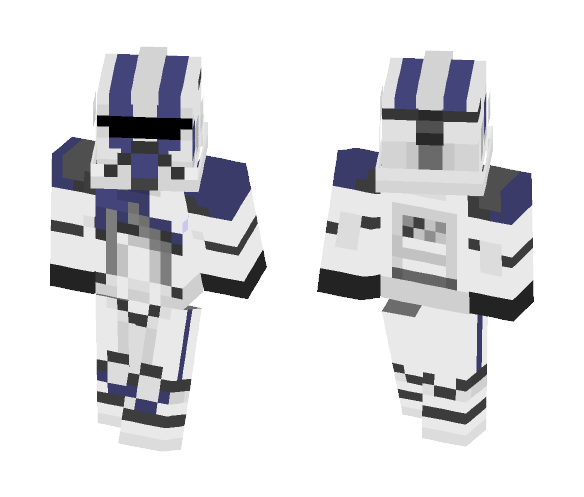 501st BARC trooper - Male Minecraft Skins - image 1