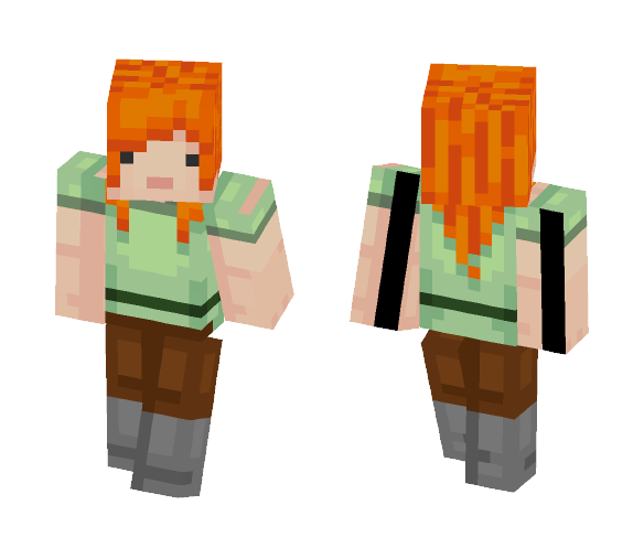 Alex Remake - Female Minecraft Skins - image 1