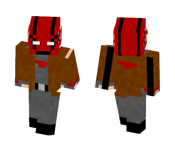 Red hood | Custom - Male Minecraft Skins - image 1