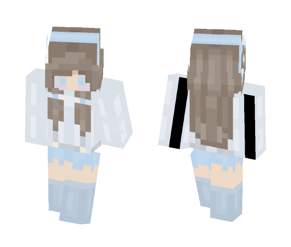 ● Blueberry Cake ● [OC] - Female Minecraft Skins - image 1
