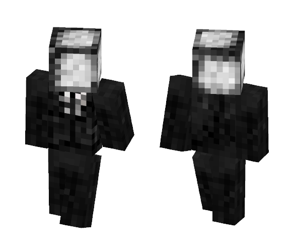 Slender How original - Male Minecraft Skins - image 1