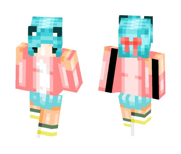 ~Stomach Ache~ - Female Minecraft Skins - image 1