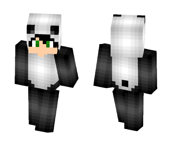Panda-Man! :) - Male Minecraft Skins - image 1