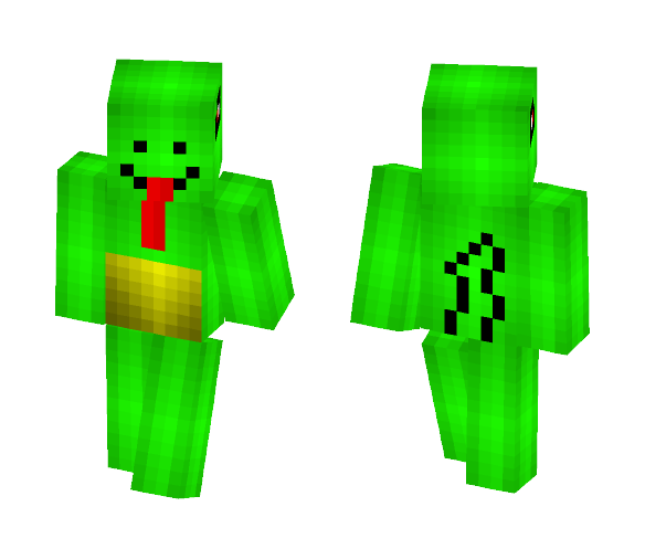 Chameleon - Male Minecraft Skins - image 1