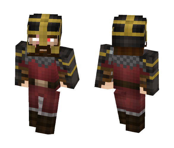 Dwarf warrior - Male Minecraft Skins - image 1