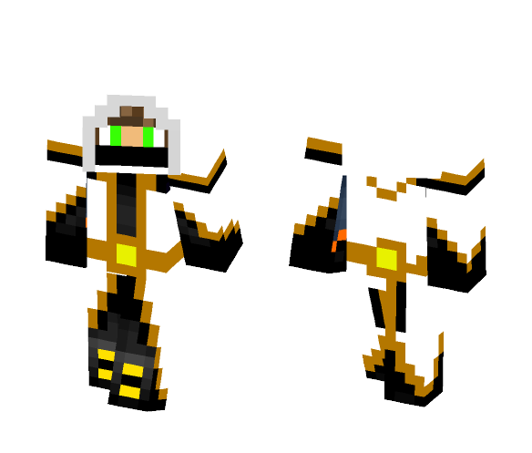 vortex [white version] - Male Minecraft Skins - image 1
