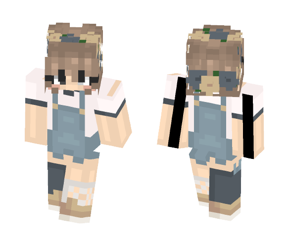 Smol Child Mew - Female Minecraft Skins - image 1