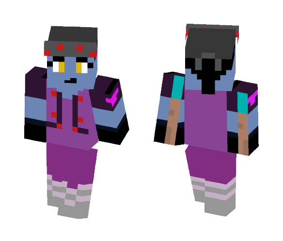 widow maker - Female Minecraft Skins - image 1