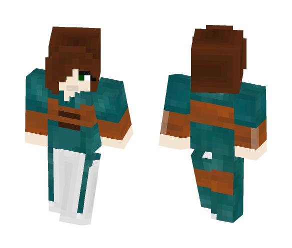 The Elder Scrolls: Skyrim Ysolda - Female Minecraft Skins - image 1