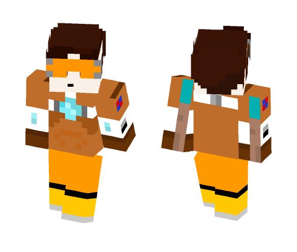 tracer - Female Minecraft Skins - image 1