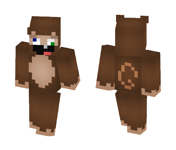 Derpy Monkey - Interchangeable Minecraft Skins - image 1