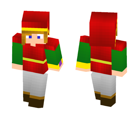 Link from albw (red suit) - Male Minecraft Skins - image 1