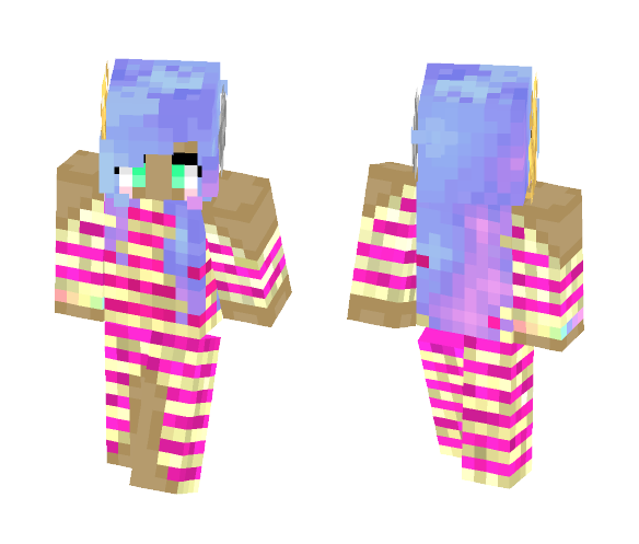 Galaxy's Wonder? - Female Minecraft Skins - image 1