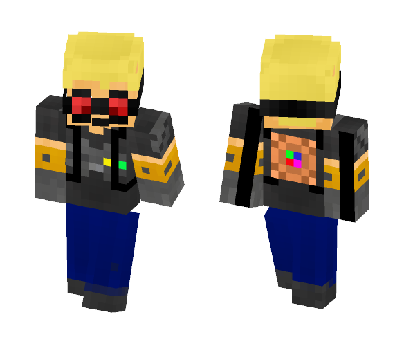 DRiveterGaming [Engineering Skin] - Male Minecraft Skins - image 1