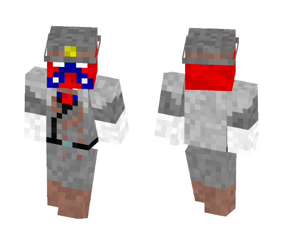 The Gray Ghost (Caleb Skinner) - Male Minecraft Skins - image 1