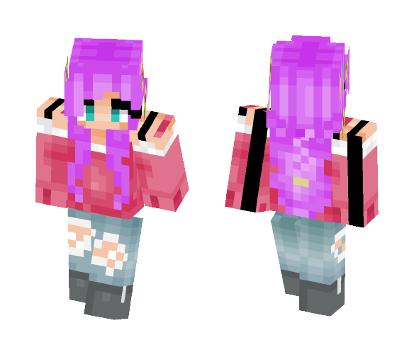 Teen Girly-Girl - Female Minecraft Skins - image 1