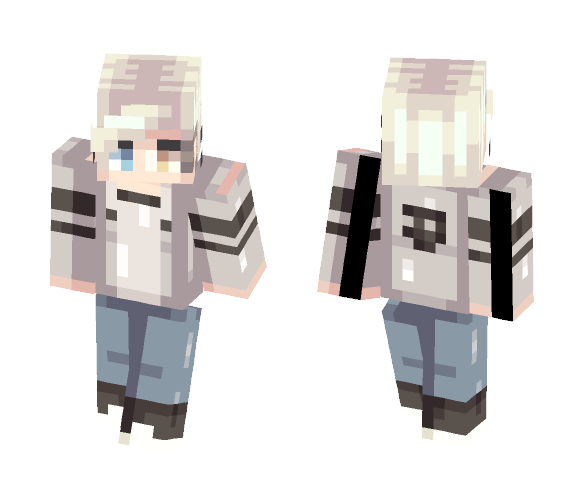 Paranormal//For TrashCAN - Male Minecraft Skins - image 1