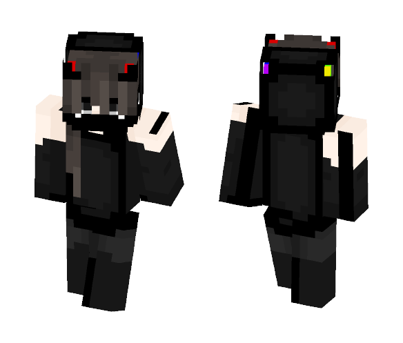 masked~colors - Female Minecraft Skins - image 1