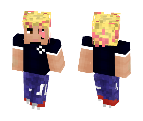 Lil Pump - Male Minecraft Skins - image 1