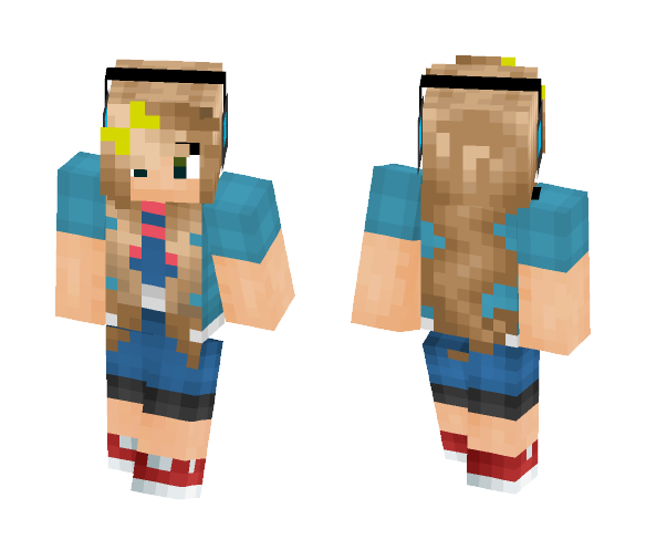 roblox shirted girl - Girl Minecraft Skins - image 1