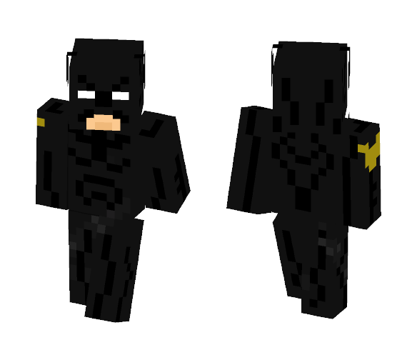 Jim Gordon Batman - Batman Minecraft Skins - image 1