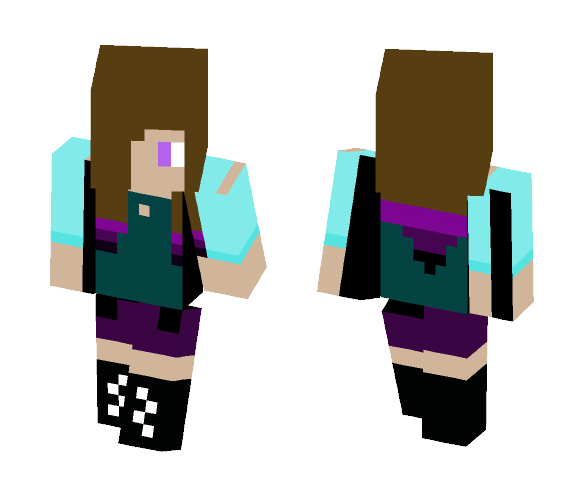 first creation - Female Minecraft Skins - image 1