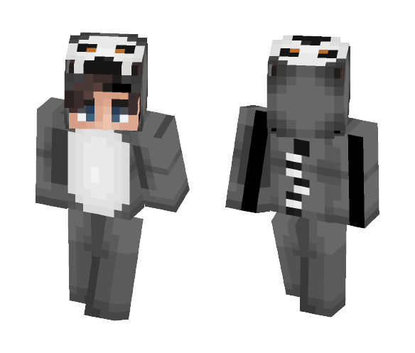 Lemur onesie ❤ - Male Minecraft Skins - image 1