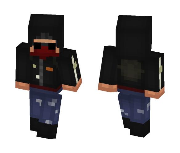 Download Terrorist | Anarchist | CS:GO Minecraft Skin for Free