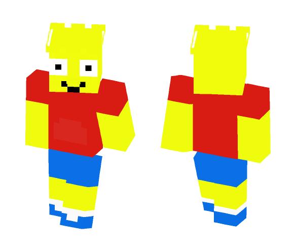 Download Bart Simpson Minecraft Skin For Free SuperMinecraftSkins