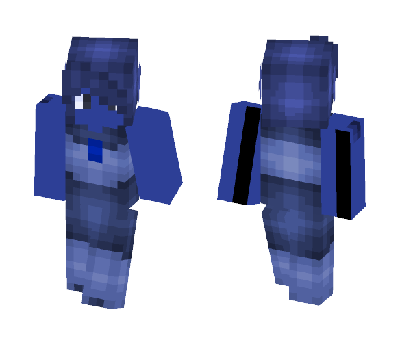 Blυe Goldѕтoɴe Two - Male Minecraft Skins - image 1