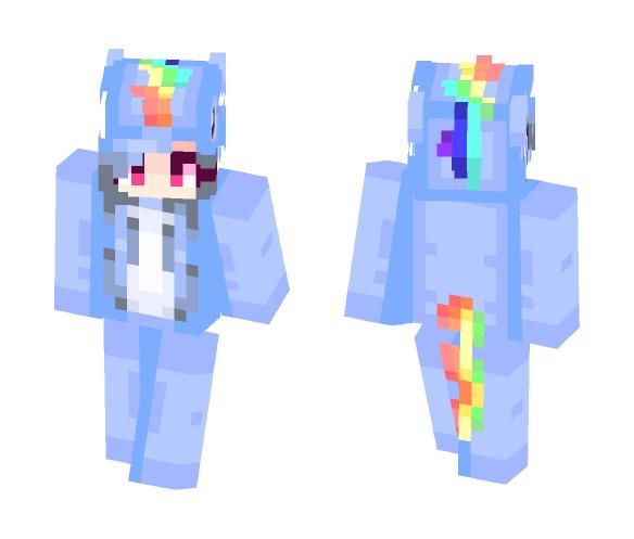 Download Unicorn Onesie Minecraft Skin for Free