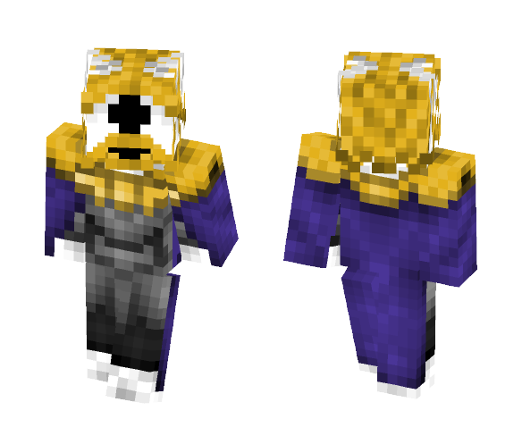Download Asgore (Help_tale) Minecraft Skin for Free