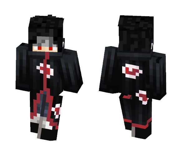 Download Itachi Uchiha Akatsuki Minecraft Skin For Free Superminecraftskins