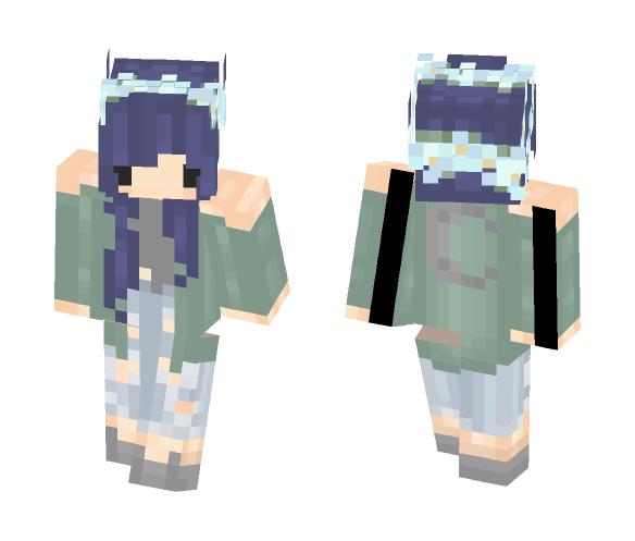 Purple Weekend - Female Minecraft Skins - image 1