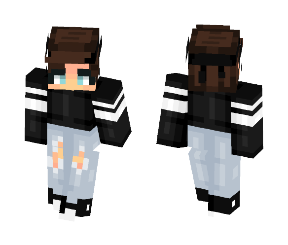 Download Shorter: Download Short Hair Girl Minecraft Skin For Free
