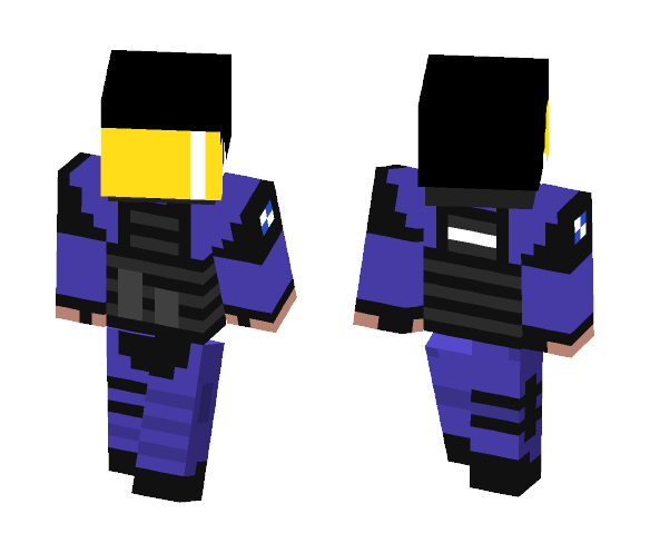 CS:GO GIGN - Male Minecraft Skins - image 1