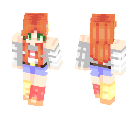 Hawaiian Sunsets - Female Minecraft Skins - image 1