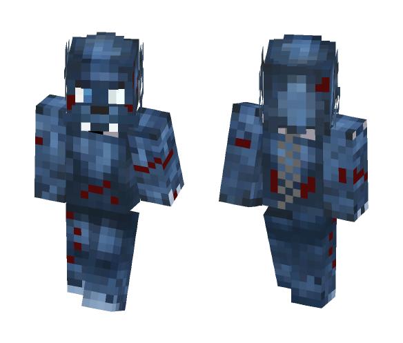 Savage werewolf (with chain+collar) - Male Minecraft Skins - image 1