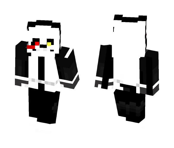 Faith (Dream X Cross Sans' Child) - Male Minecraft Skins - image 1