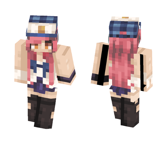 -Caitlyn- // Request - Female Minecraft Skins - image 1