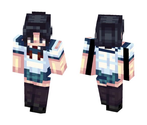 yandere chan- Ayano Aishi - Female Minecraft Skins - image 1