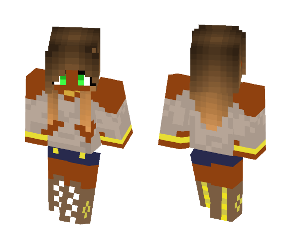 Download Exotic Girl Beautiful Girl Minecraft Skin For Free Superminecraftskins